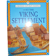 Make This Viking Settlement - An Usborne Cut-out Book