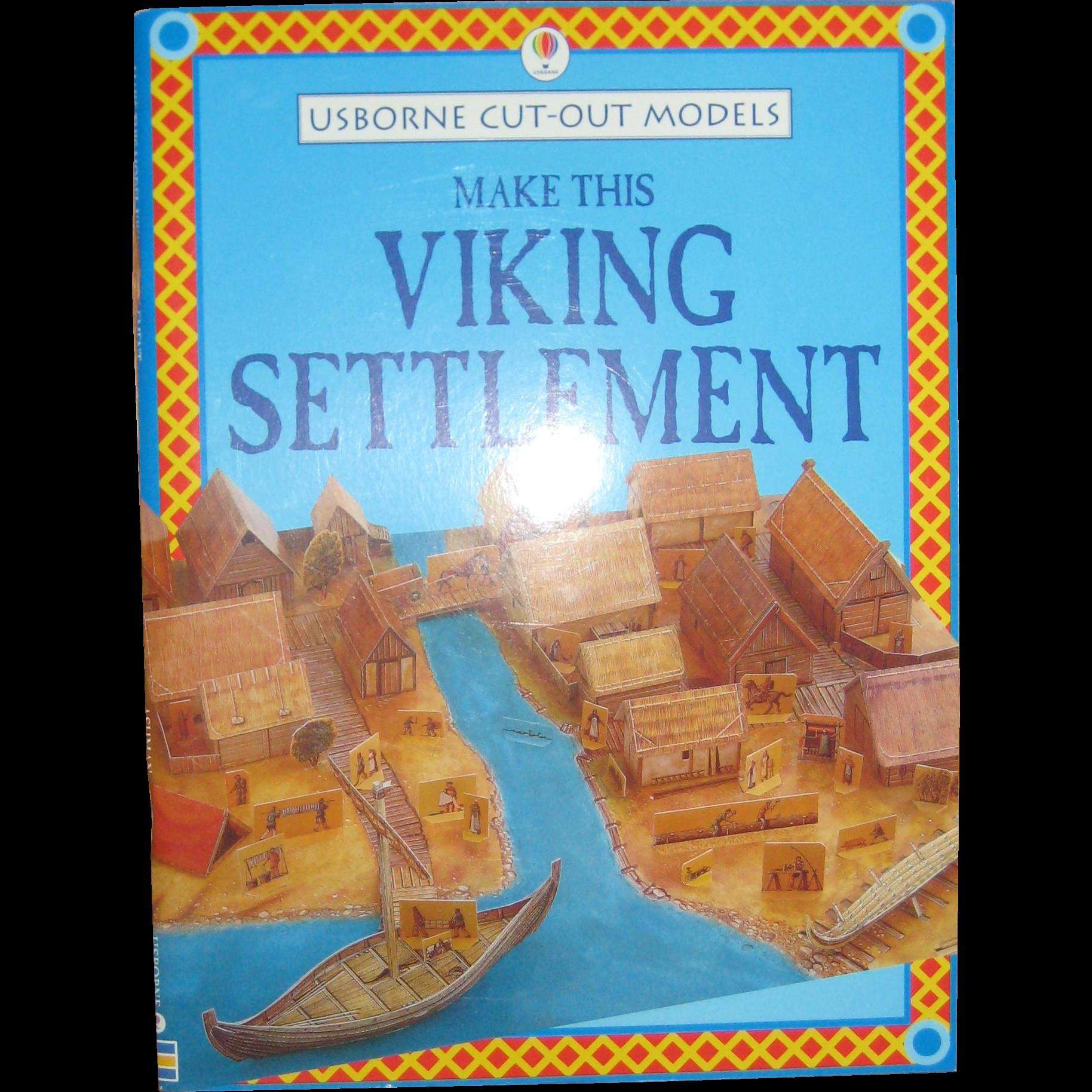 Make This Viking Settlement - An Usborne Cut-out Book