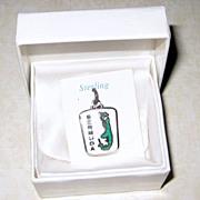 BMCo Sterling Enamel Bermuda Charm - Original Box