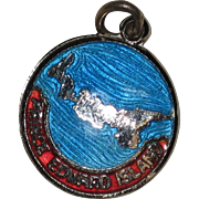 Sterling and Enamel Prince Edward Island Charm - BMCo