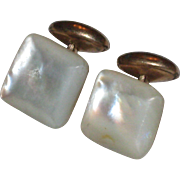 Victorian Mother of Pearl Cufflinks
