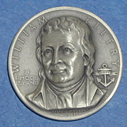 Declaration of Independence Medal - William Ellery of Rhode Island