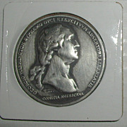Washington Before Boston Bicentennial Medal