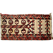 Afghan Hand Woven Wall Hanging, Saddle bag or Small Carpet