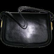 Aldana Black Italian Leather Handbag - Red Tag Sale Item