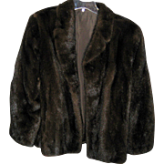 Luscious Dark Brown Mink Jacket - Excellent Condition
