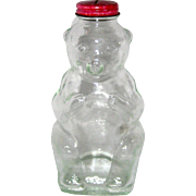 Snowcrest Beverages Glass Bear Bank