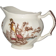 Johnson Brothers Creamer - The Old Mill