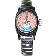 1950's US Time Cinderella Watch - Walt Disney Productions - Ticks!