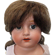 "20"" Morimura Brothers Bisque Porcelain Doll with Open Mouth, Sleep Eyes and Jointed Limbs"