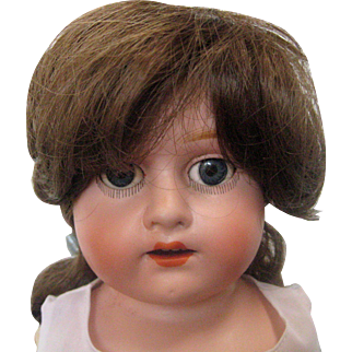 """20"""" Morimura Brothers Bisque Porcelain Doll with Open Mouth, Sleep Eyes and Jointed Limbs"""