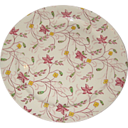 "Taylor Smith Taylor (TS & T) Chelsea Chintz 10"" Dinner Plate - 1940's"