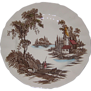 "Johnson Brothers Old Mill 10 1/4"" Dinner Plate"