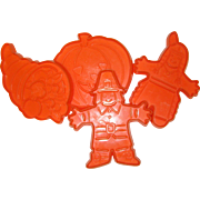 Hutzler's Thanksgiving Cookie Cutters - 1986