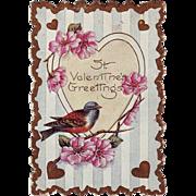 Whitney Valentine with Bird