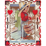 Whitney Valentine - Farmer Boy with Water Pail