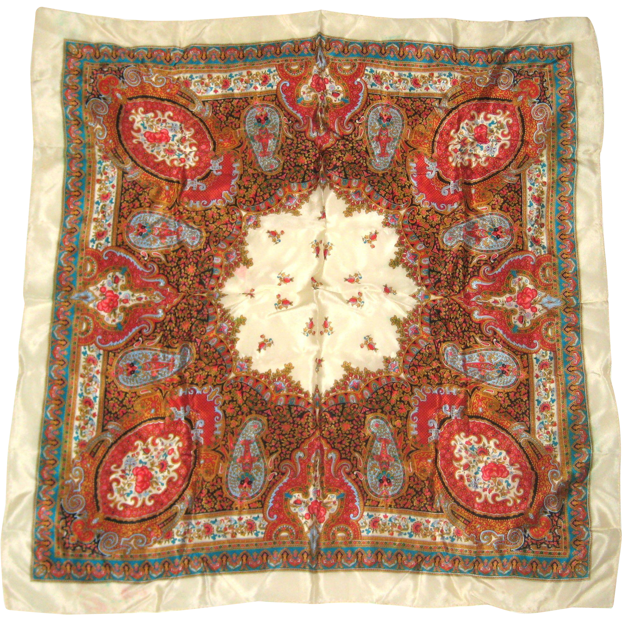Specialty House, Japan - Paisley Silk Scarf