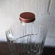 Refrigerator Jar with Lid