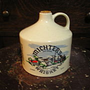 Michters Whiskey Stoneware Jug