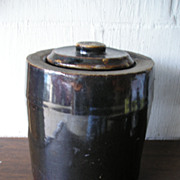 Stoneware Canning Jar with Lid