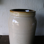 Stoneware Canning Jar
