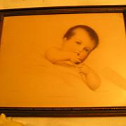Baby Print-M. Greiner