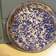 Enameled Graniteware Pie Plate