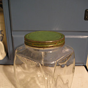Glass Store Jar with Lid
