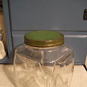 Glass Refrigerator Jar