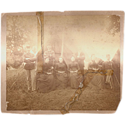 Civil War Photograph-Union Soldiers