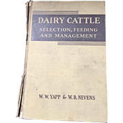 Book-Dairy Cattle