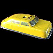 ARGO Lithograph Tin Taxi Cab Car