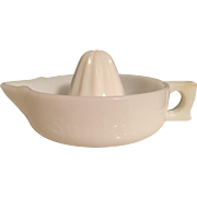 Sunkist Milk Glass Reamer