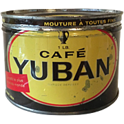 Coffee Advertising Tin