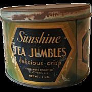 Sunshine Biscuits Advertising Tin