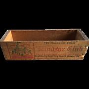 Wood Cheese Box