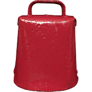 Little Red Cow Bell - Red Tag Sale Item