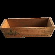 Wood Cheese Box-Advertising