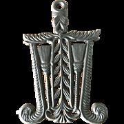 Cast Iron Trivet-Grain & Tassels