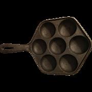 Cast Iron Muffin or Cornbread Pan