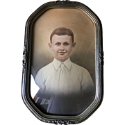 Convex Glass Frame with Photograph