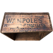 Wampoles Preparation Wood Box