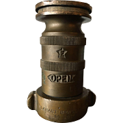 Brass Fire Hose Nozzle or Coupler