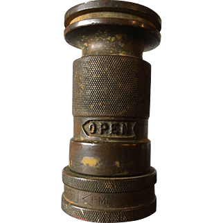 Brass Fire Hose Nozzle or Coupler