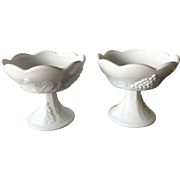 Milk Glass Candlesticks