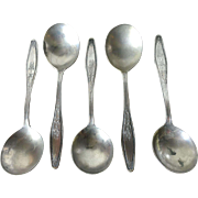 National Silver Plate Spoons