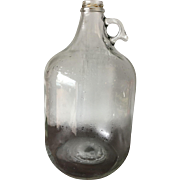 One Gallon Glass Bottle