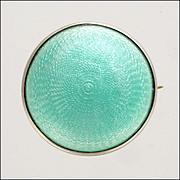 English JA&S 1917 Silver Enamel Pin