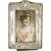 English 1912 Sterling Silver Photo Frame