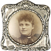 English Edwardian Sterling Silver Photo Frame - 1905